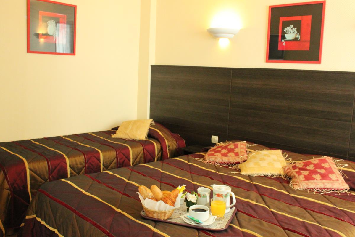 Chambre familiale triple hotel paris nos chambres for Chambre a paris